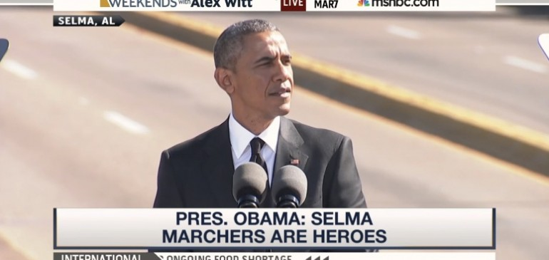 More on Obama Selma 50 Speech